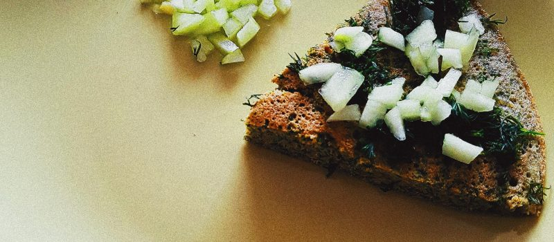 Bezglutenowy omlet szpinakowy